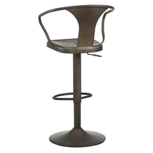 Load image into Gallery viewer, Astra Adjustable Stool in Gunmetal - Dream art Gallery