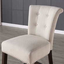 Load image into Gallery viewer, Selma 26'' Counter Stool in Beige with Coffee Legs
