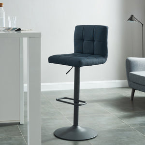 Sorb Air Lift Stool in Blue-Grey - Dream art Gallery
