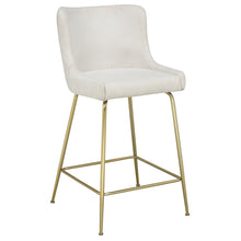 Load image into Gallery viewer, Giselle 26'' Counter Stool in Beige