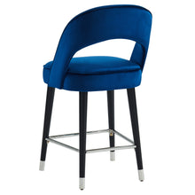 Load image into Gallery viewer, Vogue 26'' Counter Stool in Blue - Dream art Gallery