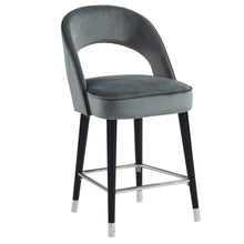 Load image into Gallery viewer, Vogue 26'' Counter Stool in Grey - Dream art Gallery