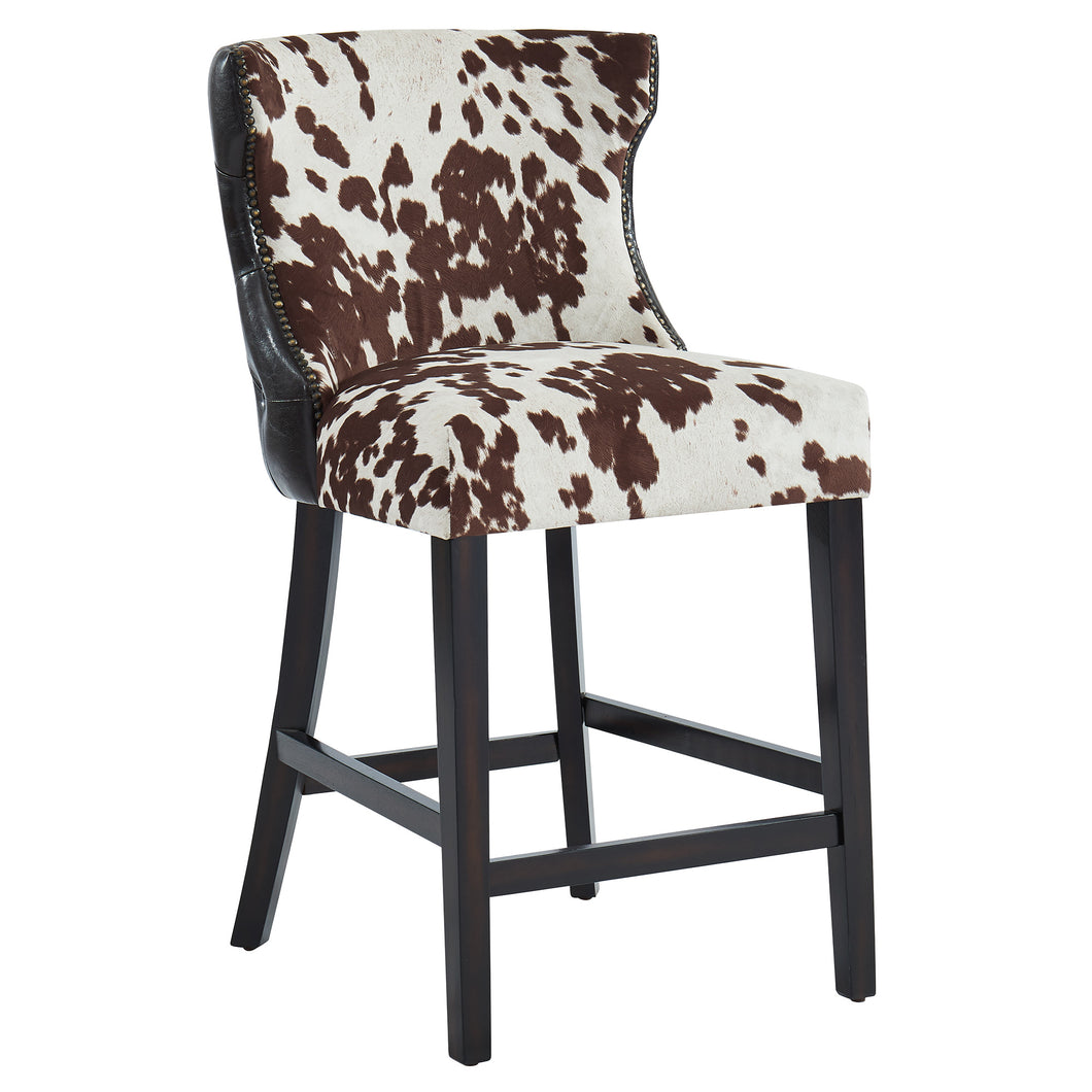 Angus 26'' Counter Stool in Brown - Dreamart Gallery