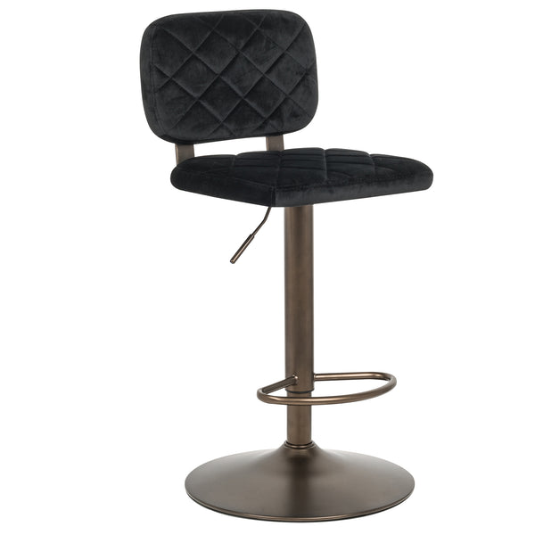 Aiko Air Lift Stool in Black - Dream art Gallery