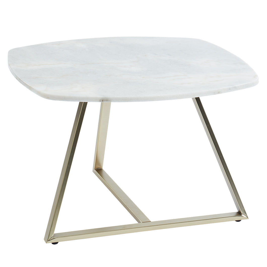 Ellis Coffee Table in White - Dreamart Gallery