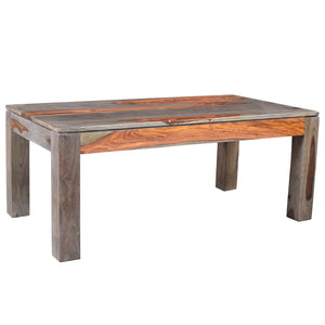 Idris Coffee Table in Grey - Dream art Gallery