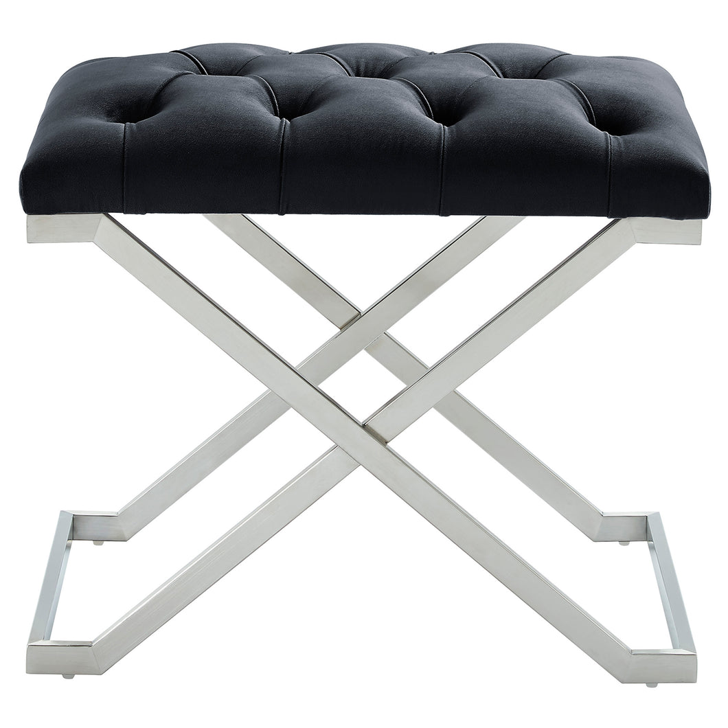 Aldo Bench in Black & Silver - Dream art Gallery