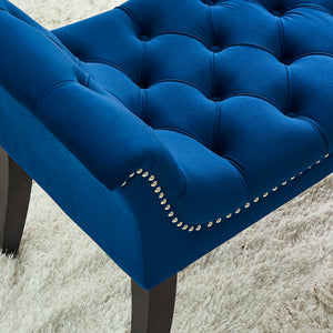 Velci Bench in Blue - Dream art Gallery