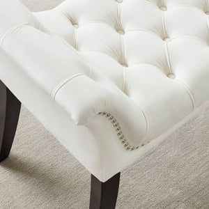 Velci Bench in Ivory - Dream art Gallery