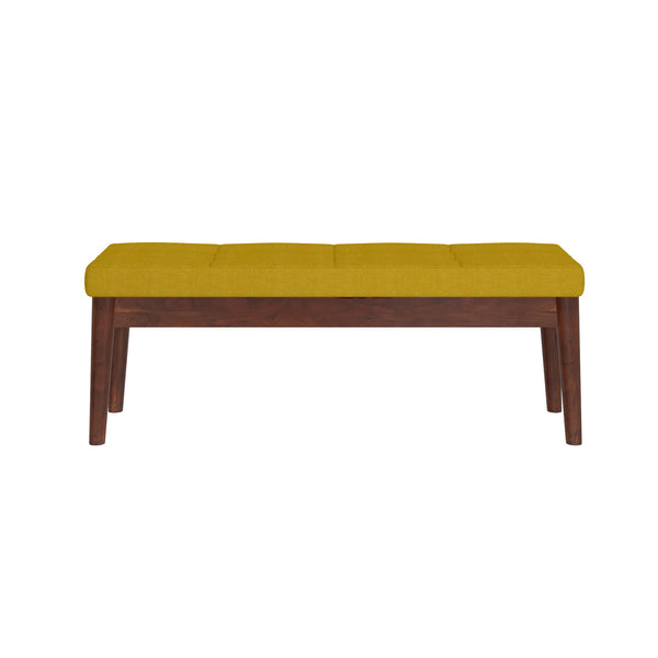 Leanne Bench in Mustard - Dream art Gallery