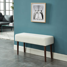Load image into Gallery viewer, Gwen Bench in Ivory - Dream art Gallery
