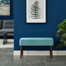 Load image into Gallery viewer, Gwen Bench in Teal - Dreamart Gallery
