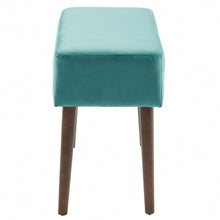 Load image into Gallery viewer, Gwen Bench in Teal - Dream art Gallery
