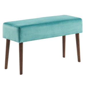 Gwen Bench in Teal - Dream art Gallery
