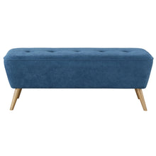 Load image into Gallery viewer, Remy Bench/Ottoman in Blue - Dream art Gallery