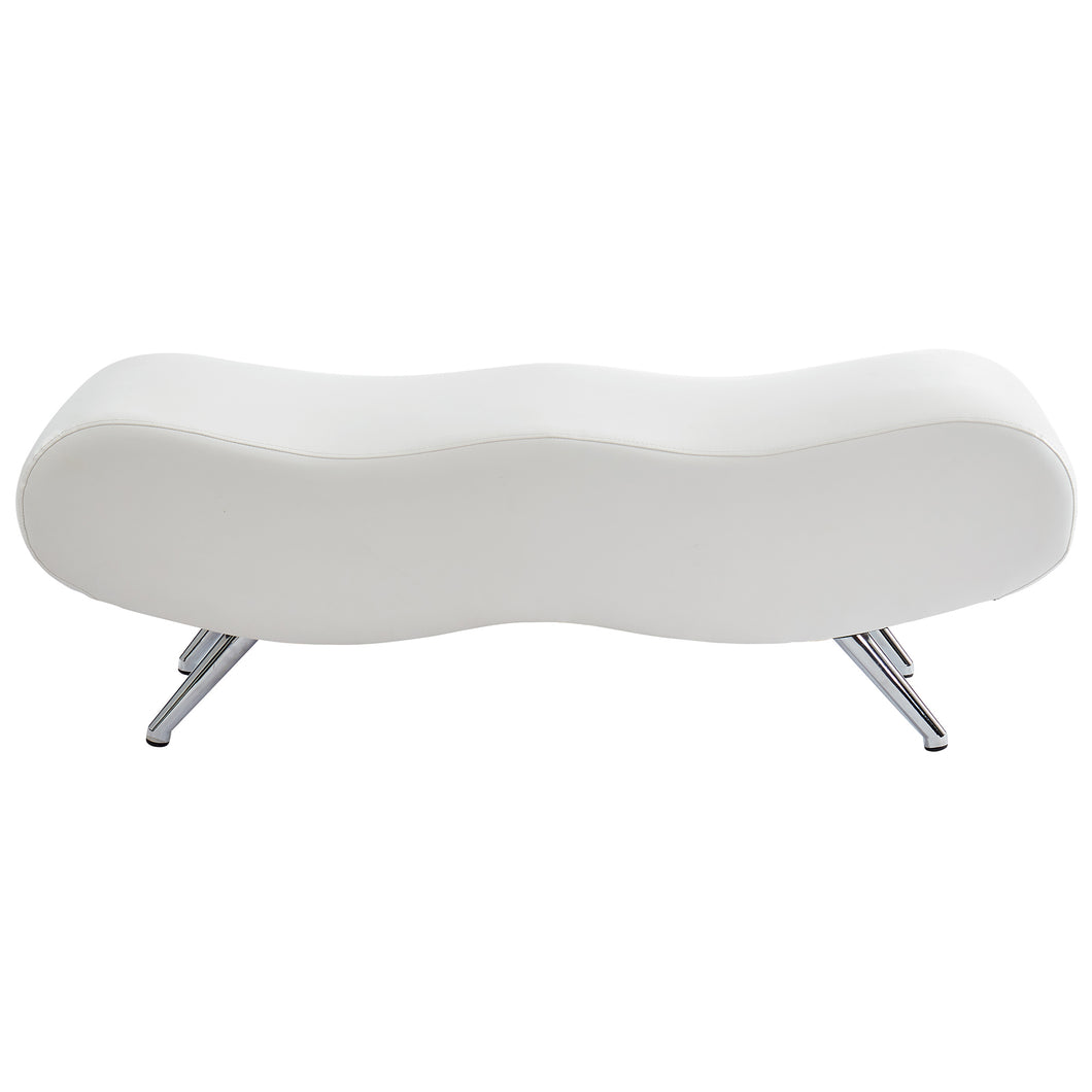 Stealth II Bench in White - Dream art Gallery