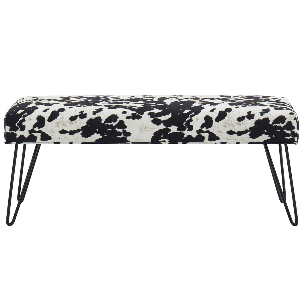 Angus Bench in Black - Dream art Gallery