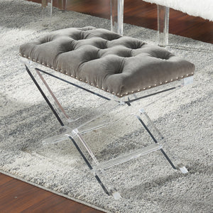 Evoque Bench in Grey - Dream art Gallery
