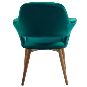 Miranda Accent & Dining Chair in Green - Dreamart Gallery