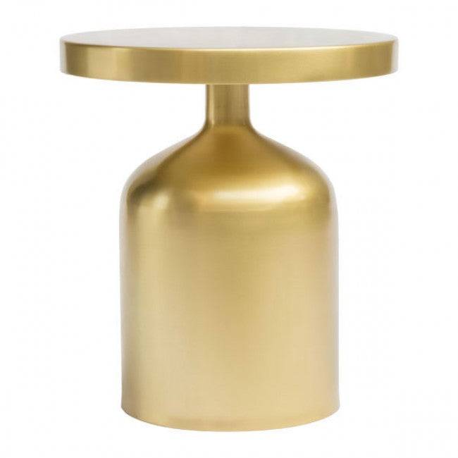 Kendal Accent Table Brass - Dreamart Gallery