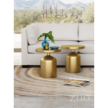 Load image into Gallery viewer, Kendal Accent Table Brass - Dreamart Gallery