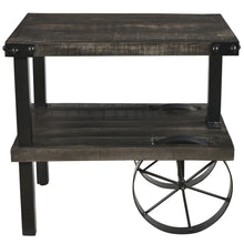 Load image into Gallery viewer, Zahir Accent Table in Distressed Grey - Dream art Gallery
