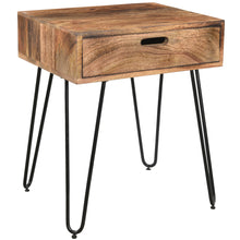 Load image into Gallery viewer, Jaydo Accent Table in Natural Burnt - Dream art Gallery