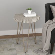 Load image into Gallery viewer, Nila Accent Table in Light Grey