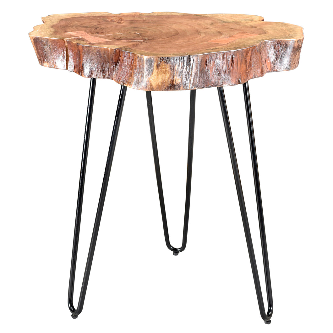 Nila Accent Table in Natural - Dream art Gallery