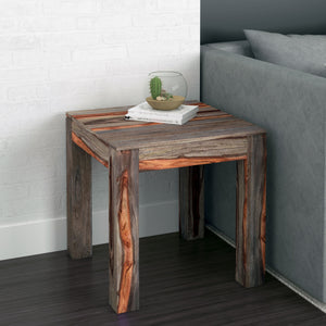 Idris Accent Table in Grey - Dream art Gallery