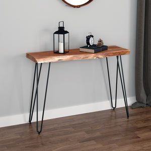 Nila Console Table in Natural - Dream art Gallery