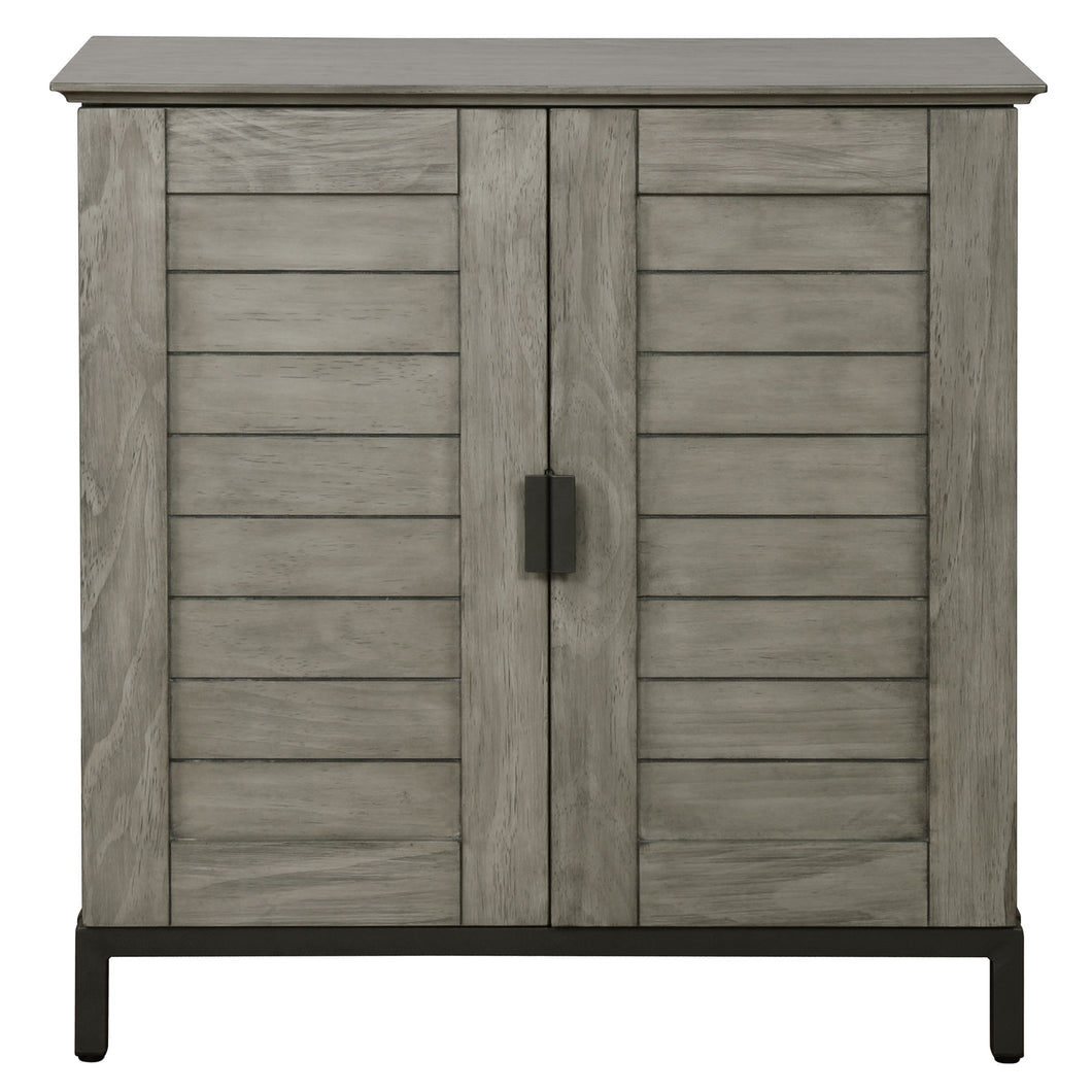 Faro Cabinet in Grey - Dream art Gallery