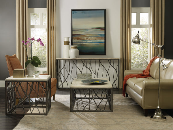 Hooker Furniture Living Room Console Table - Dream art Gallery