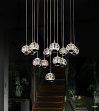 Load image into Gallery viewer, 13 LIGHT MULTI LIGHT PENDANT WITH CHROME FINISH - Dreamart Gallery