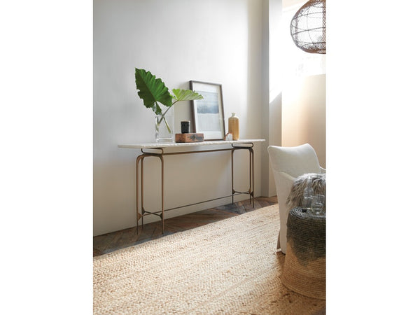 Hooker Furniture Living Room Skinny Metal Console - Dream art Gallery