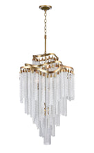 Load image into Gallery viewer, 14 LIGHT DOWN CHANDELIER WITH GOLD FINISH - Dreamart Gallery