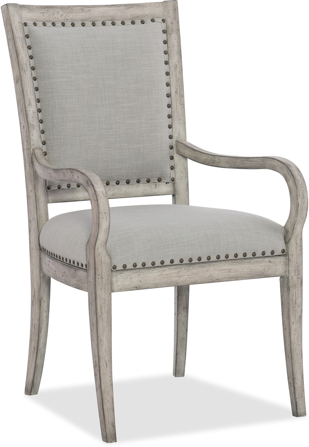 Hooker Furniture Dining Room Boheme Vitton Upholstered Arm Chair - 2 per carton/price ea - Dream art Gallery