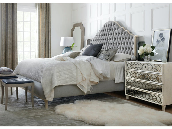 Reverie Cal King Upholstered Bed - Dream art Gallery