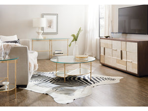 Hooker Furniture Living Room Well Balanced Round Cocktail Table - Dream art Gallery