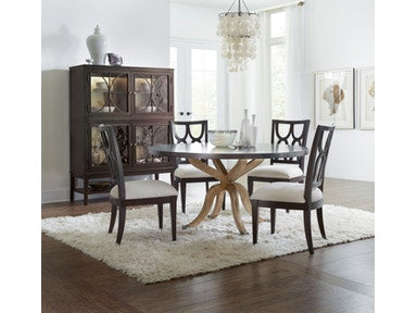 Curvee 60in Round Dining Table - Dreamart Gallery