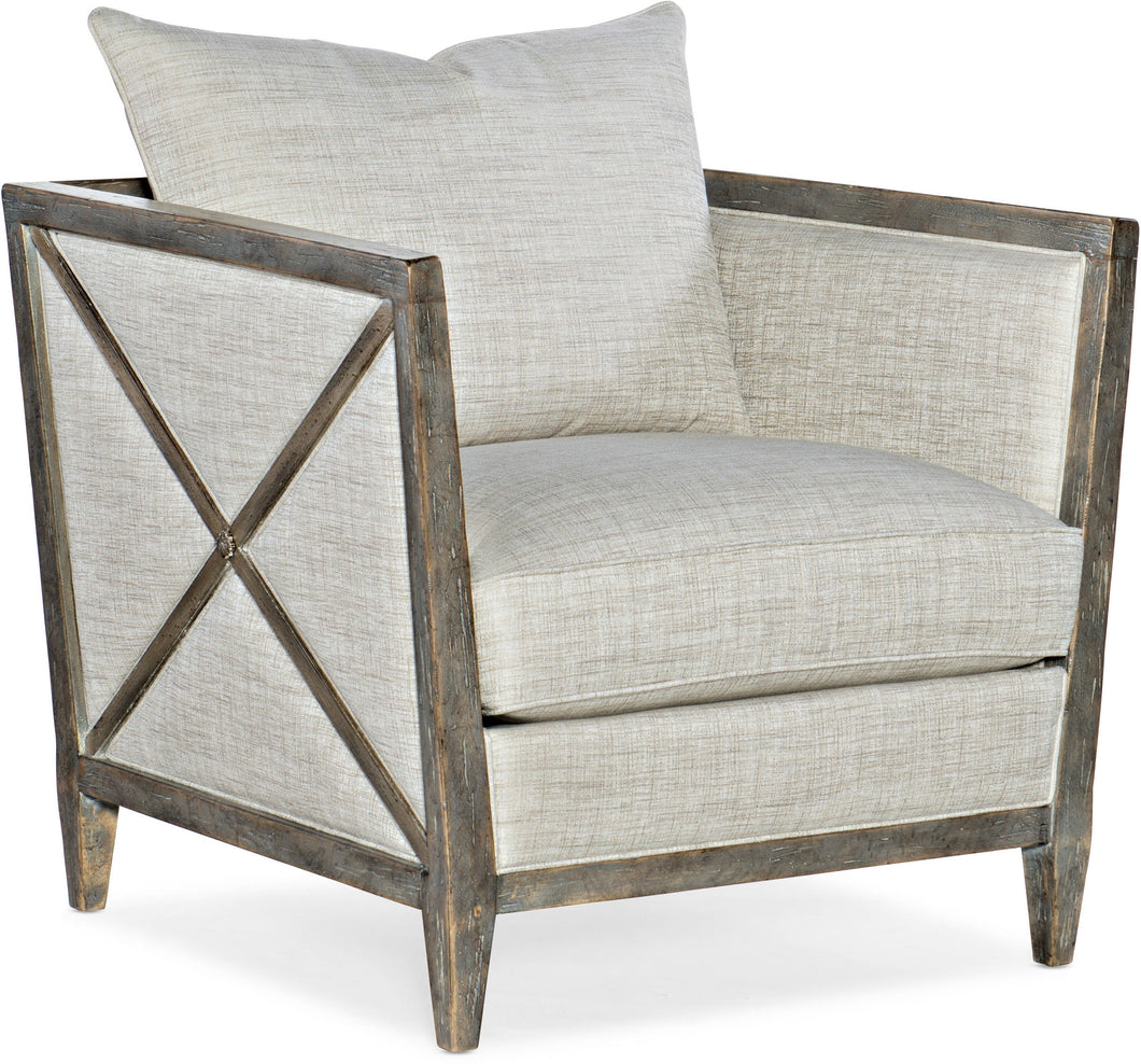 Hooker Furniture Living Room Sanctuary Prim Lounge Chair - Dreamart Gallery
