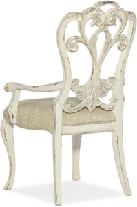 Hooker Furniture Dining Room Sanctuary Celebrite Arm Chair - 2 per carton/price ea - Dream art Gallery