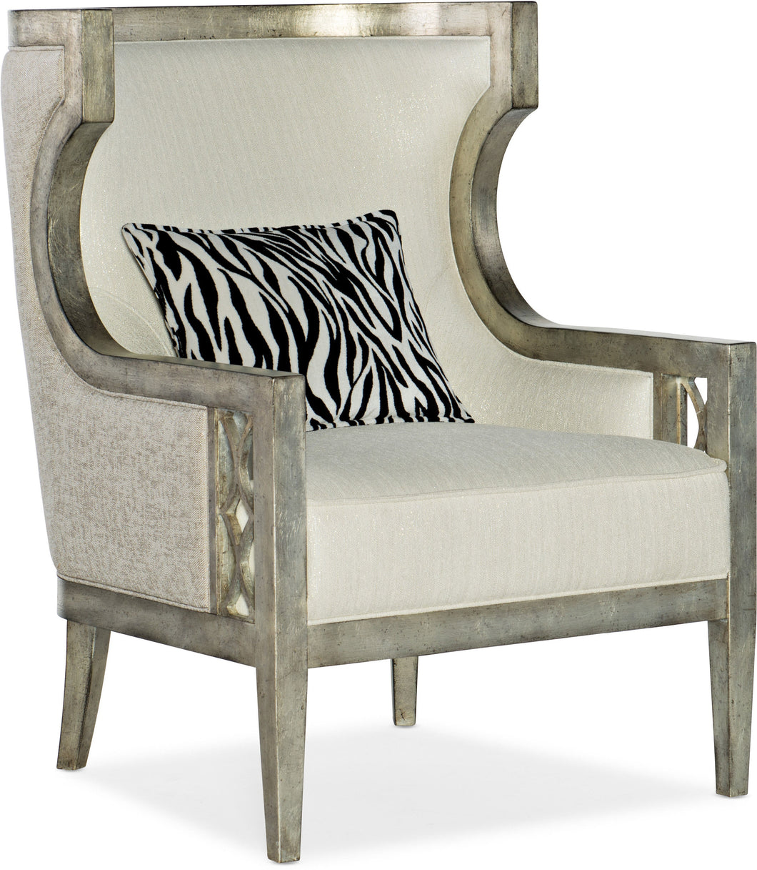 Hooker Furniture Living Room Sanctuary Debutant Wing Chair - Dream art Gallery