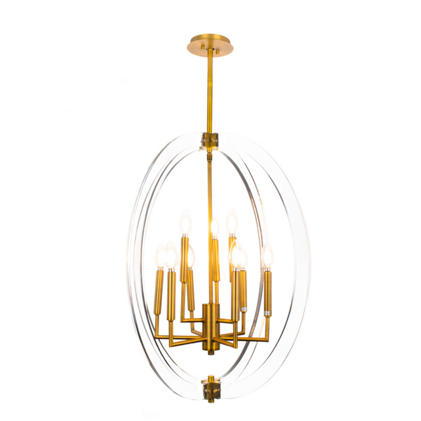 Visat 9-Light Chandelier - Dream art Gallery