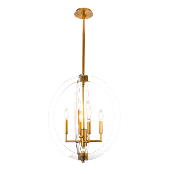 Visat 6-Light Chandelier - Dream art Gallery