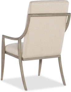 Hooker Furniture Dining Room Affinity Host Chair - 2 per carton/price ea - Dream art Gallery
