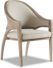 Load image into Gallery viewer, Hooker Furniture Dining Room Affinity Sling Back Chair - Raffia Back - Dream art Gallery