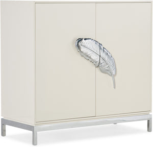 Hooker Furniture Living Room Melange Dont Leaf Me Cabinet - Dream art Gallery