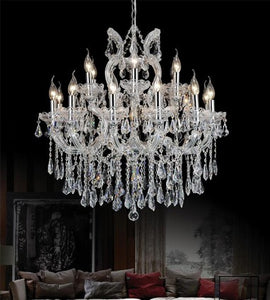 19 LIGHT UP CHANDELIER WITH CHROME FINISH - Dream art Gallery