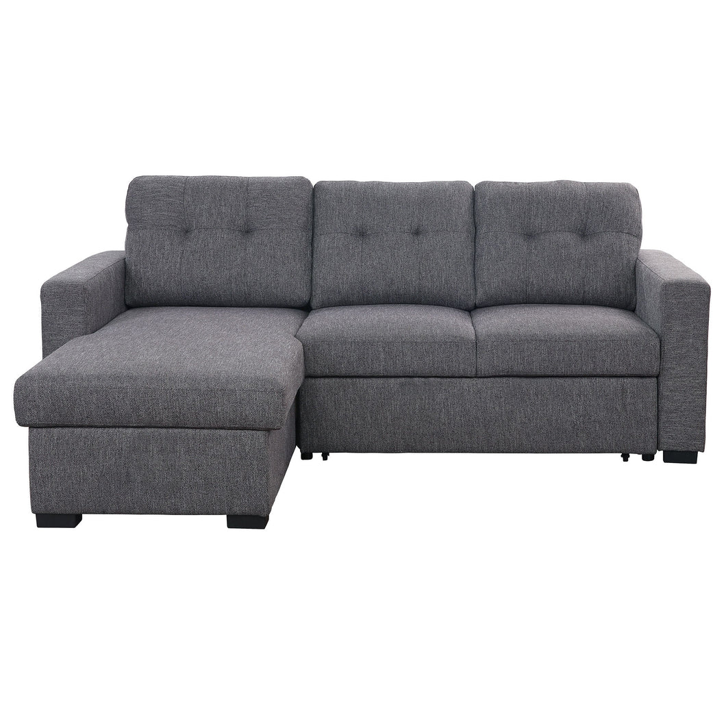 Tyson Sectional Sofa with Bed & Storage, 93.25